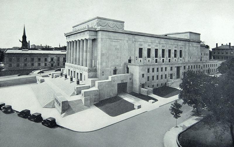 1933 photo of AUD